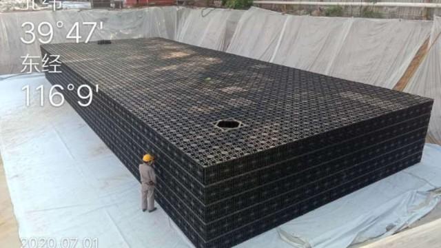 雨水收集池的大小及位置确定? -建大